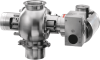 Heavy Duty Airlock -- CIP suitable Rotary Valve