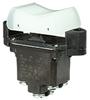 TP Series Rocker Switch, 2 pole, 3 position, Screw terminal, Flush Panel Mounting -- 2TP201-70 -Image