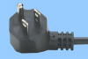 North American Angled Nema 5-15 Power Cord -- 86460055 -Image