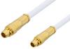 MMCX Plug to MMCX Plug Cable 12 Inch Length Using RG196 Coax -- PE34891-12 -Image