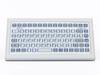 Industrial TKF Desktop Keyboard -- TKF-085a-KGEH - Image
