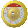 3M 05579 Medium Blue Stikit PSA Disc Pad - 8 in Diameter - 5/16-24 Internal Thread Attachment -- 051144-05579 -- View Larger Image