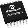Enhanced Feature Battery-Backed SPI Real-Time Clock/Calendar -- MCP795W11 - Image