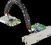 iDoor Module: USB Slot w/ Lock for USB Dongle -- PCM-23U1DG