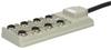 M12 wiring block Weidmüller SAI-8-F 4P PUR 10M - 9456760000