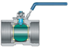 One-piece Ball Valves -- VOP-1000 -- View Larger Image