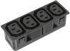 Power Entry Connectors - Inlets, Outlets, Modules - Unfiltered -- 486-2156-ND