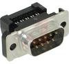 AMPLIMITE HDF-20 Plug, 9 Pos., IDC, 28-26 AWG, Full Metal Shell, Low Profile -- 70041357