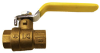 VALVES, FOOT VALVES AND BALL VALVES, BRASS BALL VALVE -- 60-1310