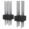 Rectangular Connectors - Headers, Male Pins -- 10076801-405-12LF-ND -Image