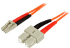 StarTech.com Multimode 50/125 Duplex Fiber Patch Cable LC -- 50FIBLCSC5