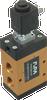 3/2-way Solenoid Vacuum Valve, Internally Vacuum Pilot Operated -- 36.610   36.611