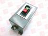 ALLEN BRADLEY 609-AJX ( MANUAL STARTING SWITCH, PUSH BUTTON, 1 PHASE, NEMA 0, NEMA TYPE 12 - IP54 ) -Image