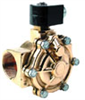Brass, Two-Way, Pilot-Operated Valves (Normally Closed), 1