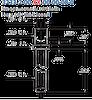 Swage Terminal Pin -- 3233-2-00-15-00-00-08-0