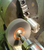 Abtex Small Diameter Wheels, Silicaon Carbide Filament Copper Center Silicon Carbide Filament—High Density -- 182000