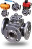 Flanged 3-Way Ball Valves -- MPF Series