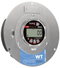Panel Mount Digital Pressure Gauge -- WT Series