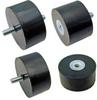 Cylindrical Vibration Mount - Sorbothane Type (Metric) -- V10Z59MFB638150