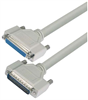 Deluxe Molded D-Sub Cable, HD44 Male / Female, 50.0 ft -- HAD00014-50F -- View Larger Image
