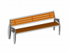 Salto Bench, Pagwood, Fixed/Movable -- 5315299