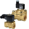 Brass 2-way Solenoid Valves [NPT 3 -- J Series - Image