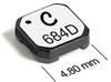 LPD5010 Series Low-profile Common Mode Chokes -- LPD5010-473 -Image