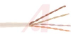 Cable; 4 x 4; 4; 24 AWG; Solid; 0.17 in.; Bare Copper; FEP; 300 V; PVC; Natural -- 70195264