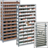 Steel Shelving with Corrugated Bins -- 5238600
