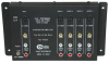 Cables To Go 4-Outlet Audio/Video + S-Video Distribution Amp -- 41064