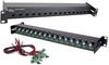 CCTV Patch Panel -- H16P-RJ45BNC-2