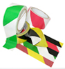6 Mil PVC Striped Safety Warning Tape -- PVCSAFET 4840 -Image