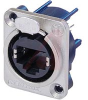 RJ45 Receptacle; 8; Vertical PCB Panel Mount; 1.5 A; 1000 VAC (RMS) -- 70088262