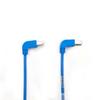 10FT Blue CAT5e 100MHz Angle Patch Cable S/CM Down-Up -- EVNSL21ES-0010-90DU - Image