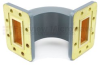 WR-137 Waveguide E-Bend Commercial Grade Using CPR-137G Flange With a 5.85 GHz to 8.2 GHz Frequency Range -- SMF137EBA -Image