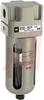 Air Filter; Modular; 150 PSI max; 1/8NPT ports; auto drain, bowl guard -- 70070519