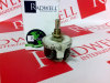 OHMITE RHS350 ( RHEOSTAT, WIREWOUND, 350 OHM, 25W, TRACK RESISTANCE:350OHM, PWR RATING:25W, PRODUCT RNG:RHS SERIES, POTENTIOMETER MOUNTING:PANEL, ADJUSTMENT TYPE:SCREWDRIVER SLOT, NO. OF TURNS:1TUR... -Image
