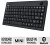 Adesso WKB-3100UB Wireless Mini Keyboard - 2.4GHz, Built-In -- WKB-3100UB
