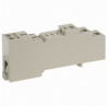 General Purpose Relay Socket, 5-Pin DIN Rail Mount -- 40312343181-1