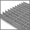 Slip Resistant Grating -- Steel