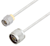 SMA Male to N Male Cable Assembly using LC085TB Coax, 6 FT -- LCCA30539-FT6 -Image