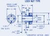 Gear Hubs Split Lock Nut Type #BPS-A4-1 -- BPS-A4-1 - Image
