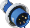 IP44 Splashproof 15° Angled Receptacle -- F51S53A