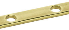 Busbar made from brass