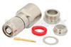 RP TNC Male Connector Clamp/Solder Attachment for RG213, RG55, RG141, RG142, RG223, RG400, RG303, PE-C195, PE-P195, LMR-195 -- PE4659 -Image