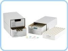 Slide Storage Unit With Plastic Trays -- MS-1-1