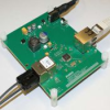 AFBR-0545Z Media Converter Kit for the AFBR-5972Z Fiber Optic Transceiver -- AFBR-0545Z