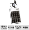Adesso 19-Key USB Retractable Numeric Keypad -- AKP-150