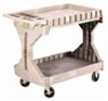 Convertible Utility Cart, 2-Shelf, Small, 19.5