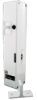 Relialign™ CDI Series Commercial Door Interlock, white, left key entry, ac/dc solenoid, parallel wiring, terminal strip connector -- CDILBP1W
